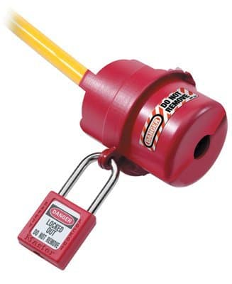 120 Volt Safety Series Rotating Electrical Plug Lockout