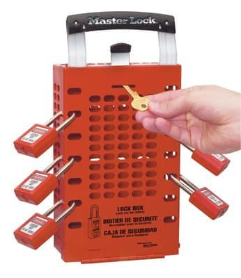 Red Safety Series Latch Tight Lock Boxes