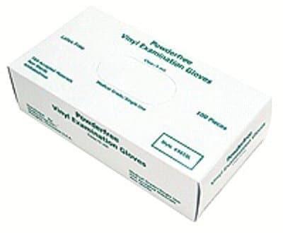 Memphis Glove Large Medical Disposable Vinyl/Latex Gloves
