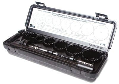 0.17 lb Maintenance Carbide Tipped Hole Saw Kit