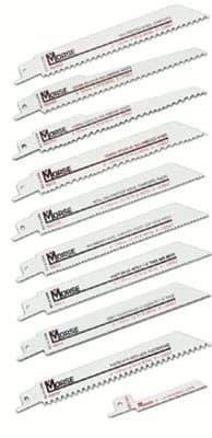"6"" 14 TPI Bimetal Reciprocating Saw Blades"