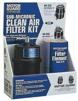 """Sub-Micronic Compressed Air Filter Kit for 1/4"""" (NPT)"""