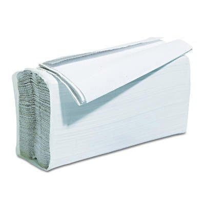 White, C-Fold Paper Towels, 10 x 12.25
