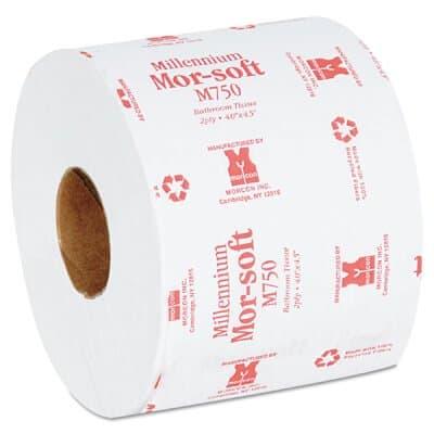 Individually Wrapped, 2-Ply 750 Sheet Morsoft Millennium Bath Tissue
