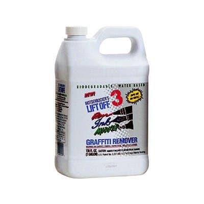 Motsenbockers 1 Gallon Lift-Off #3 Pen, Ink, and Marker Graffiti Remover