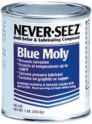 Never Seez 16 oz Blue Moly Compound