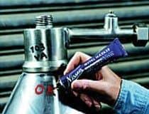 White Ball Low Chloride Metal Marking Marker