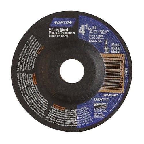 "4-1/2"" x .045"" x 7/8"" Type 27 RightCut Depressed Center Wheel"