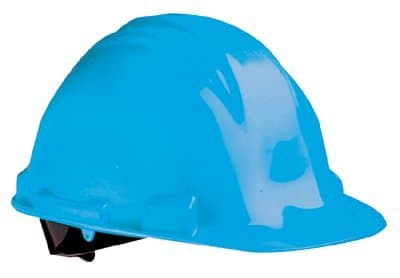 Sky Blue A-Safe Safety Cap w/Rain Trough