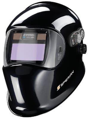 Black Optrel e680 Series Auto-darkening Welding Helmets