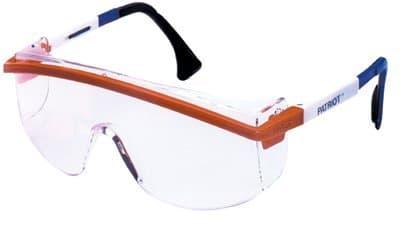 Black Astrospec 3000 Eyewear w/Adjustable Temples