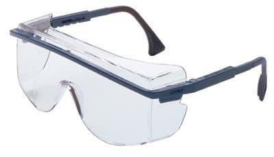 Black Frame Clear Lens Astrospec 3000 Safety Eyewear