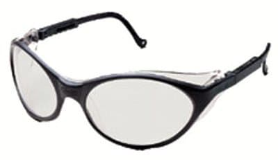 Black Frame Uvex Bandit with Duoflex Safety Spectacles
