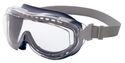 Uvex Navy Frame Clear Polycarbonate Lens Flex Seal Goggles