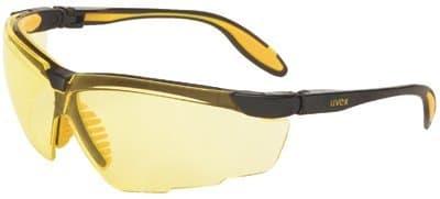Black/Yellow Uvextreme Genesis X2 Eyewear