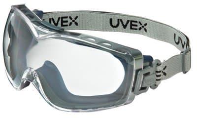 Navy Frame Clear Lens Stealth OTG Goggles
