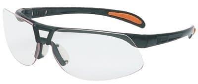 Metallic Black Frame Gray Lens Prot