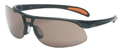 Metallic Black Frame Gray Lens Protege Eyewear