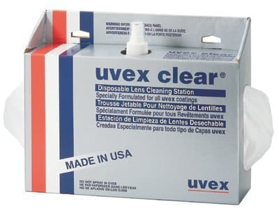 Clear Disposable Lens Cleaning Stations