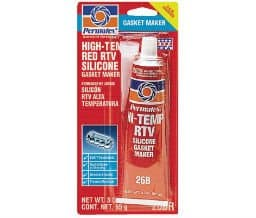 3 oz #26 High Temp Red RTV Silicone Gasket