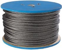 """3/16"""" Aircraft Quality Wire Ropes"""
