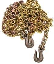 Peerless 5/16' Yellow Dichromate Steel Tiedown Chain Assemblies