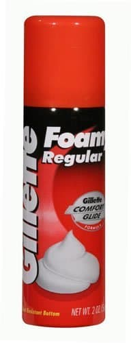 Gillette Foamy Shave Cream Regular 2 oz.