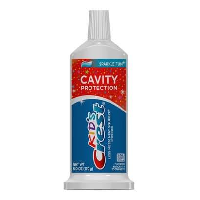 Procter & Gamble Crest Kids Sparkle Toothpaste 0.85 Oz.