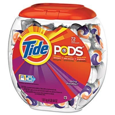 Procter & Gamble Tide Pods Laundry Detergent Spring Meadow 72 Count