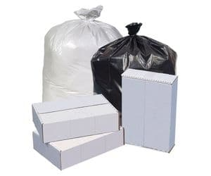 Pitt Black Star 6 Micron Low-Density Trash Bag 16 Gallon