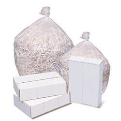 Pitt Pitt Plastics 8 Micron High Density Clear Can Liner 12-16 Gallons