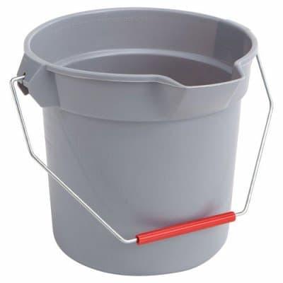 Rubbermaid 10 Qt Gray Brute Round Bucket