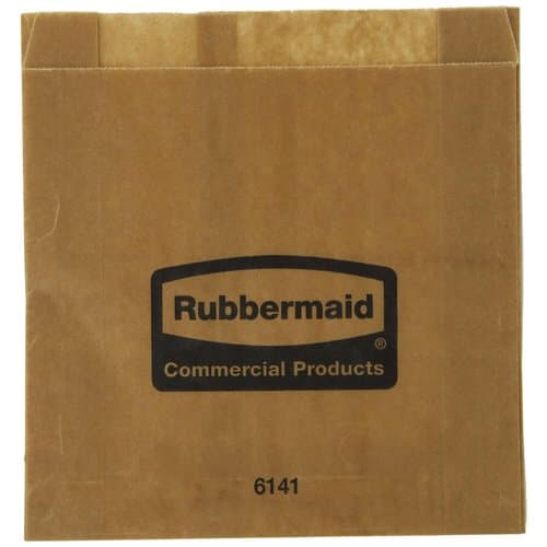 Rubbermaid Wax Lined Paper Bags