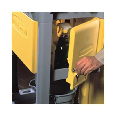Rubbermaid Locking Cabinet For Use with RCP Cleaning Cart