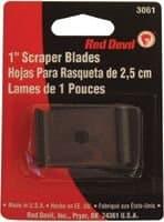 "1"" Single Edge Wood & Paint Scraper Blade"