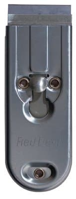 1 Blade Carbon Steel Push/Pull Window Scraper