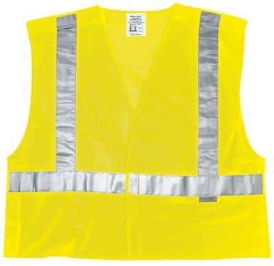 Large Fluorescent Lime Luminator Class III Rain Suits