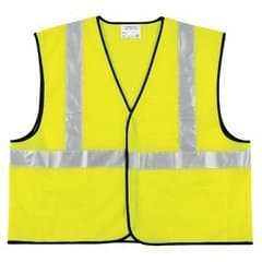 Fluorescent Lime Class II Economy Safety Vest