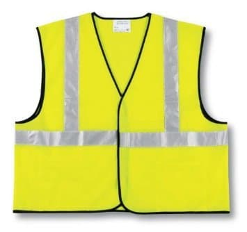 X-Large Class II Lime Economy Safety Vest