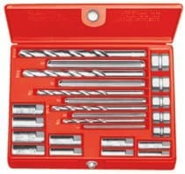 20 Piece Screw Extractor Set