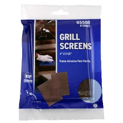 Griddle-Grill Screen, Aluminum Oxide, Brown