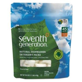 Seventh Generation Dishwashing Detergent Packs