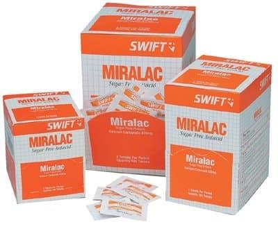 Miralac Antacids Tablets 420mg w/Glycine