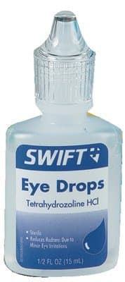Swift First-Aid 1/2 oz Squeeze Bottle Tetrasine Eye Drops