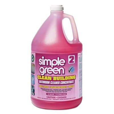 Simple Green Unscented, 1gal Clean Building Bathroom Cleaner Concentrate