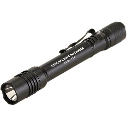 Professional Tactical Black LED Flashlight