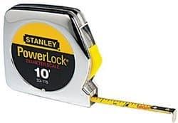"""Stanley 1/4"""" X 10'withDia. Powerlock Pocket Measuring Tape Rule"""