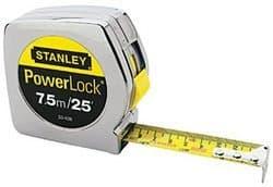 """Stanley 1"""" X 26' Powerlock-in/Metric Pocket Measuring Tape Rule"""