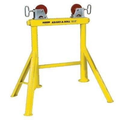 Hi Adjust-A-Roll Stand w/ Steel Wheels
