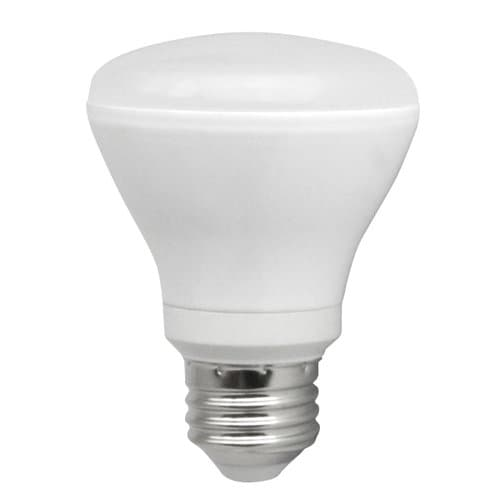 10W Dimmable Smooth R20 LED Bulb, 2700K